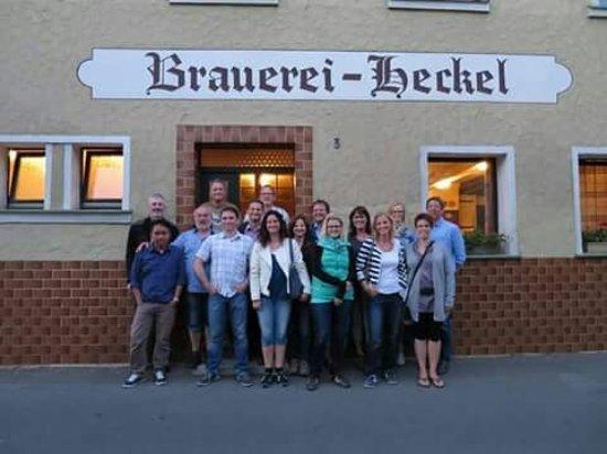 Waischenfeld, Deutschland: the last API/ISO Pump group meeting... miss you all guys...