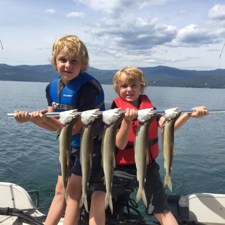 Flathead Lake Charters: Great day on the Flathead with Captain Mike!