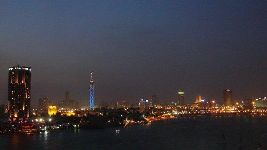 Grand Nile Tower: Vista desde la habitación