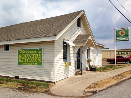 Mayfield, KY: Wilma's Kountry Kitchen, side view