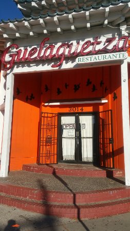 Guelaguetza: This is the corner,  not the entrance