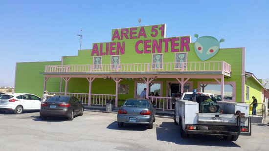 Area 51 Alien Center