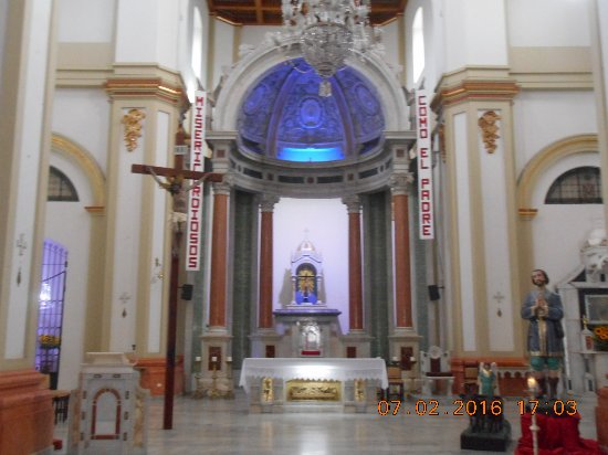 Santa Rosa de Osos, โคลอมเบีย: Inside the Catedral Nuestra Señora del Rosario de Chiquinquirá