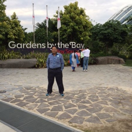 gardens by the bay entrance of garden bay