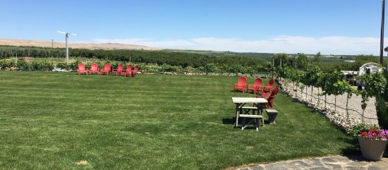 Zillah, WA: The picnic area and surrounding countryside.