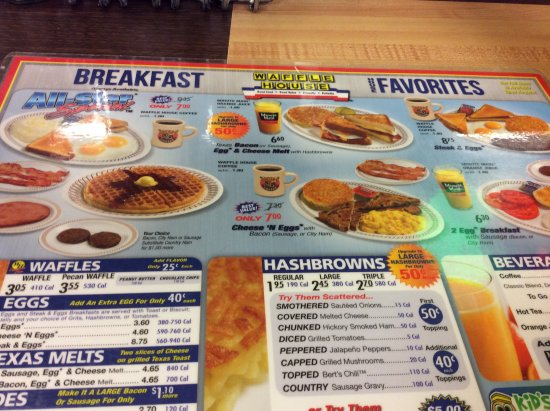 Jackson, MS: Breakfast Menu