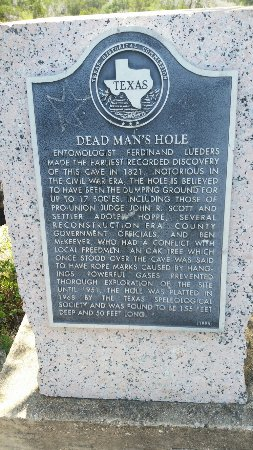Dead mans hole picture of dead man s hole marble falls