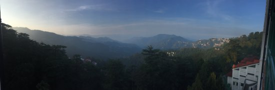 The Oberoi Cecil, Shimla: Panoramic view from Oberoi Cecil
