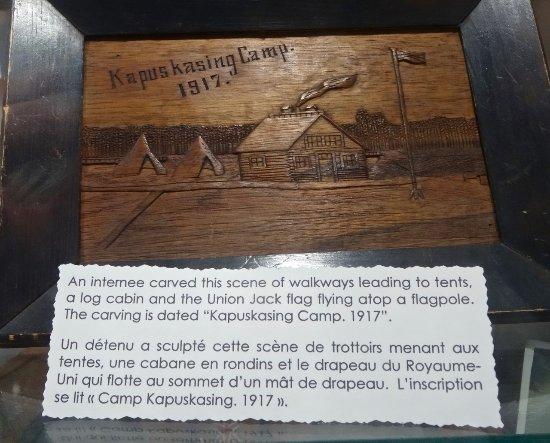 Memorabilia from World War I POW Camp in Kapuskasing