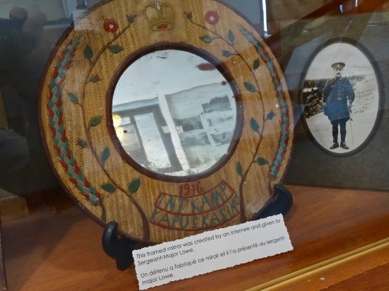 Kapuskasing, Canada : POW Gift to Guard, from World War I Camp Memorabilia Exhibit