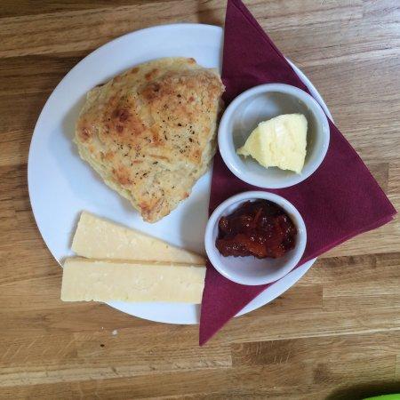 Thornham Magna, UK: Gorgeous food