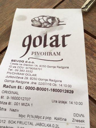 Gornja Radgona, Словения: Pivohram Golar
