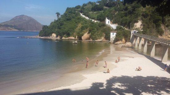 Boa Viagem Beach: Praia da Boa Viagem e acesso à Ilha homônima