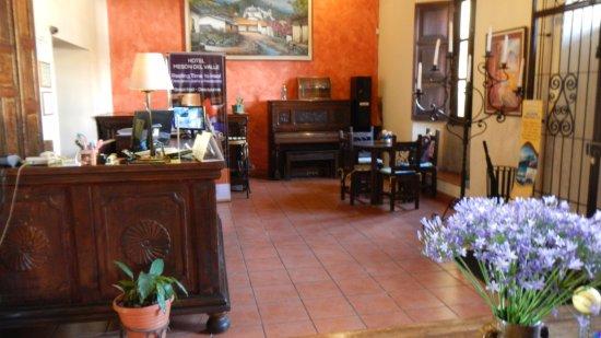 Hotel Meson del Valle: Recepción
