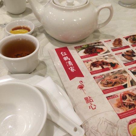 Flamingo House Chinese Cuisine Table setting u0026 menu & Table setting u0026 menu - Picture of Flamingo House Chinese Cuisine ...
