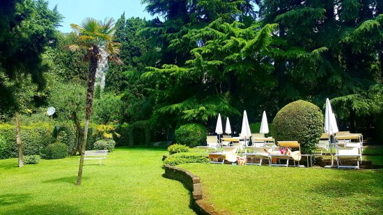 Tranquil hotel beach garden - Picture of Hotel Excelsior le Terrazze ...