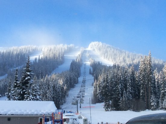 Wonderful Sun Peaks Ski Area: Rug Up As Very Cold Place At Times