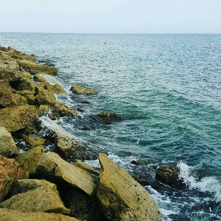 Isole della Sicilia, Italia: Nice place clear water,  Marina de Ragusa