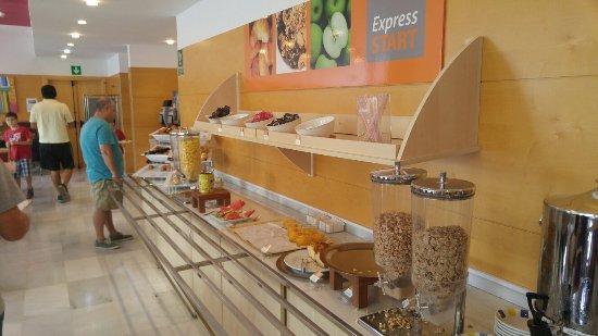 Aldaia, España: Breakfast