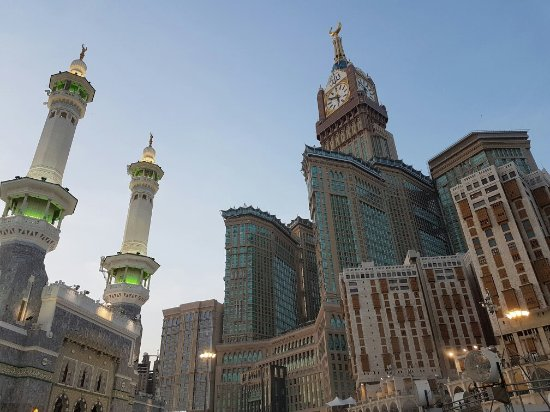 Makkah Clock Royal Tower, A Fairmont Hotel: love this city
