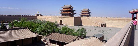 Jiayuguan Fortress: 天下雄關的內城