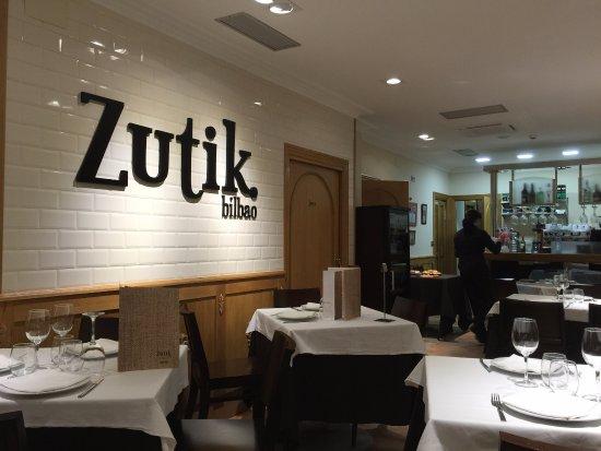 Comedor - Picture of Restaurante Zutik Cardiles, Bilbao - TripAdvisor