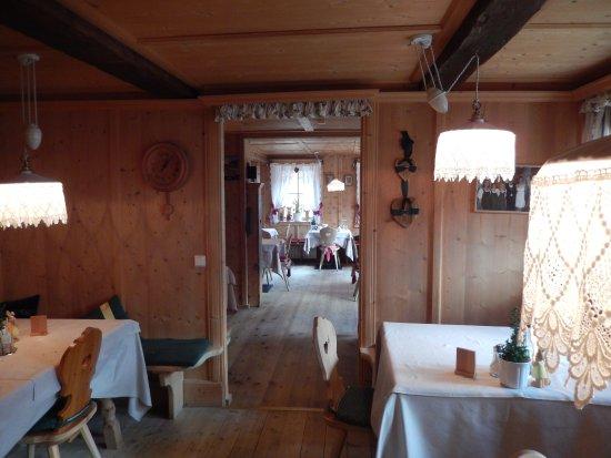 Le sale da pranzo - Bild von Gasthof Oberraindlhof, Senales (Schnals ...