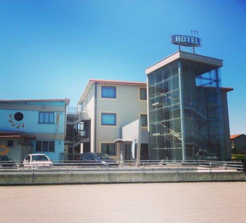 Medea Hotel: panorama