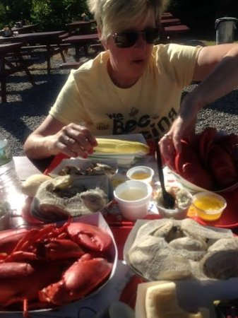 Pemaquid, ME: The perfect meal for a summer day!