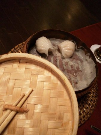 The Monk: Prawn and Water Chestnut dimsums