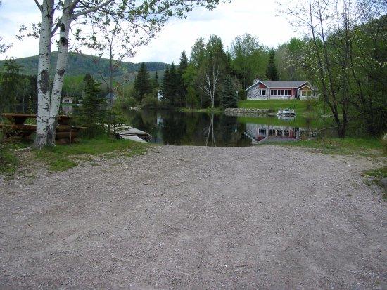 Parc Georges-Painchaud, Lac-Saguay, rampe mise à l'eau municipale