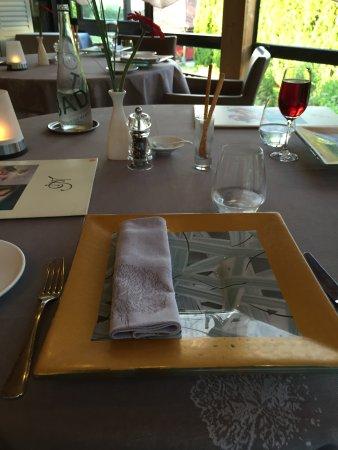 Deco De Table A L Arrivee Picture Of La Ferme De L