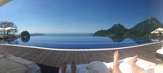 Lefay Resort & Spa Lago di Garda: View from the infinite pool