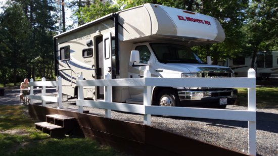 Yosemite Ridge Resort : ruime plek voor motorhome