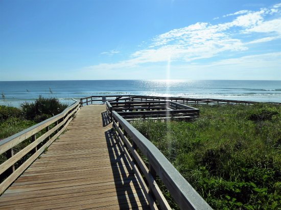 Canaveral National Seashore: Lot #5 beach ramp
