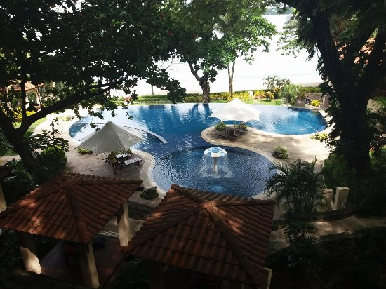 Club Punta Fuego: The pool view from the Resort Entrance