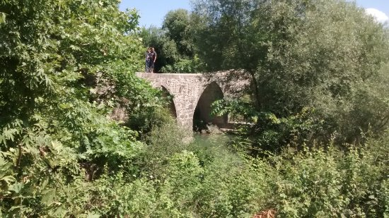 Aspendos Bridge: A brige that is hard to see, but part of a great trip to the green lake