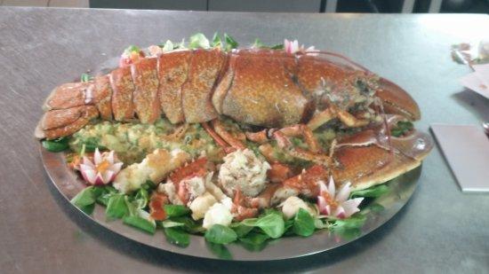 Restaurant  Frašker: Lobster !!!