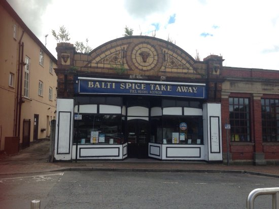Middlewich, UK: Balti Spice Takeaway