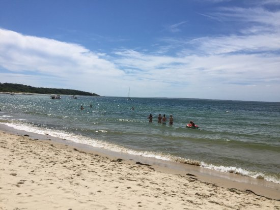 Great beach for locals. Most BnBs in West Tisbury have a pass you can borrow. We rode in via bik