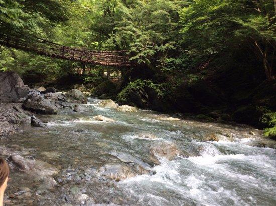 女橋。川から見たところ - 三好...