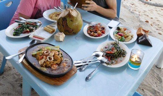 The Barat Perhentian Restaurant: lunch