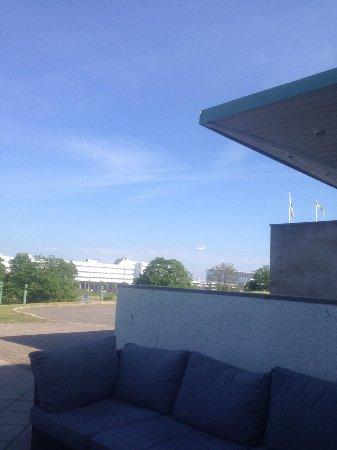 Harryda, Schweden: View towards Landvetter airport