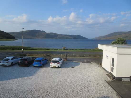 view from room Balmacara Hotel