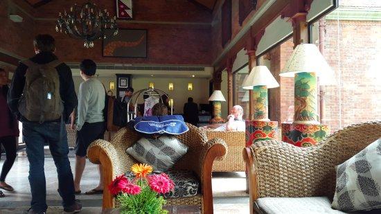 Gokarna Forest Resort: Lobby of Gokarna resort