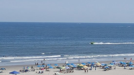 Wildwood Crest, NJ: View from Room 810