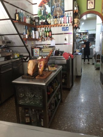 Estación de Cártama, España: Dejlige Tapas