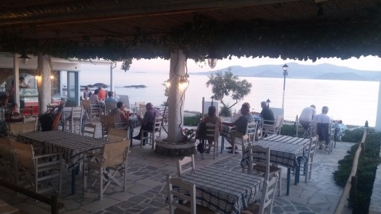 Sunset Restaurant : sunset time