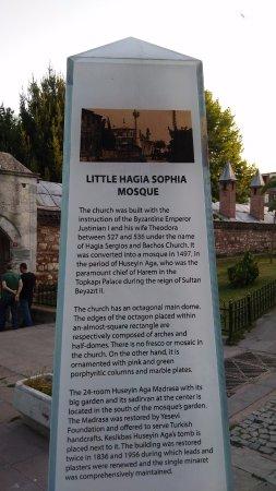 Kucuk Ayasofya Camii (Church of the Saints Sergius and Bacchus) : описание
