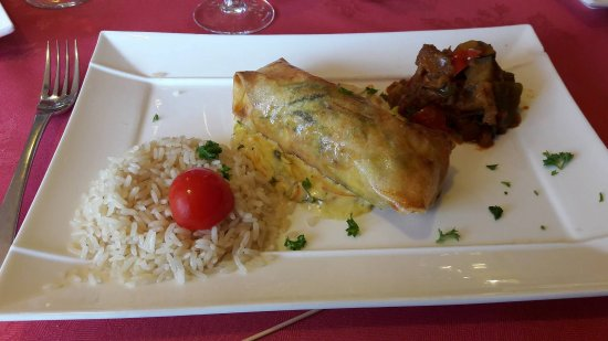 Nanterre, Frankrijk: Saumon en croûte et ses accompagnements